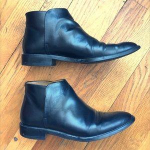 Everlane modern ankle boot black